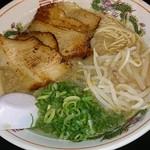 75355655 - 炙りトロ肉チャーシュー麺(写真は数年前のもの)
