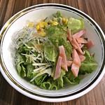 シーフード&スペインバル Azul - ランチセットのサラダ