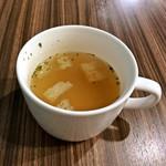 75356460 - ランチセットのスープ