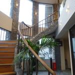 ステーキ宮 - 階段