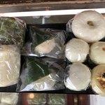 志波まんじゅう  - 料理写真:饅頭のいろいろ