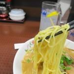 餃子の王将 - ラーメン、いつもの王将の麺