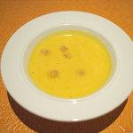 麺匠 パスタバカ一代 - ランチのスープ