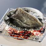 さわ栄 - 料理写真:鮑の残酷焼き