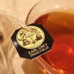 カフェ プレジール - マリアージュフレールのお紅茶です