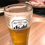 榮華亭 - 生ビール