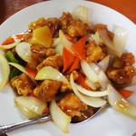 台湾料理 四季紅 - 料理写真:鶏肉の甘酢炒め