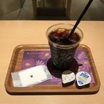 ナナズ・グリーンティー - アイスコーヒーいただきました。