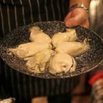 ファイヤーホール4000 - 三陸産の牡蠣