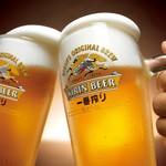 キリン一番搾り<生ビール>