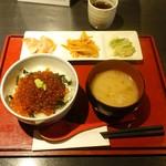 あてるい - 天然いくら醤油漬け丼1,600円