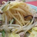 永楽 - あまり彩りがなく地味なビジュアルですが、具の炒め方は上手だし、具もスープも熱々で、満足でした。