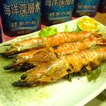 南島食楽園 - 料理写真:久米島特産!車海老の塩焼き