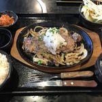焼肉 風々亭 - 料理写真:Aランチ 熟成サーロインステーキ御膳(¥1,404)