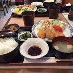 はなまる - ヒレカツ定食¥750