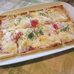 EAT - トマトとチーズのピッツア2017.10.26