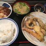 天ぷら 大吉 - 店主のおすすめセット(´∀`)