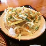 そば処 やまいち - 天ぷら(野菜のかき揚げ)