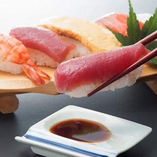 寿司の食べ放題はディナー限定