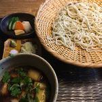 九つ井 - 鴨せいろ蕎麦   1900円