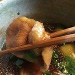 九つ井 - 鴨せいろ蕎麦の鴨   柔らかくて美味しいですね