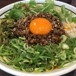 濃厚担々麺 はなび 南陽店 - 台湾まぜそば