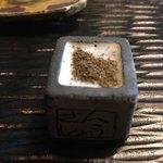 九つ井 - 鴨せいろ蕎麦の山椒