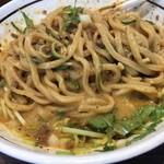 濃厚担々麺 はなび 南陽店 - クリーミーなタレ、太い麺