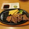ビッグボーイ - 料理写真:赤身肉のやわらかカットステーキ 120g