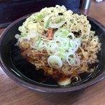 本陣 - 料理写真:天ぷらそば 500円