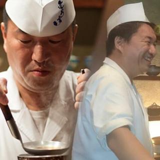 関西で生まれ育ち関西で修行した、風土を知る関西の料理人です。