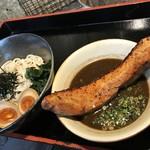島豚家 - 特製炙り島豚つけ麺