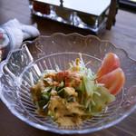 欧風カレー喫茶フランクリン - サラダ