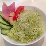 パーラー鯉 - (コーヒー・サラダ) セット ¥400