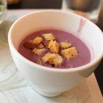 カフェドゥラプレス - 紫いものスープ