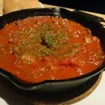 ティーエイト ステーキハウス - 牛すじトマト煮
