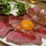 お肉と神戸野菜とワインとチーズ TOROROSSO - 特製ローストビーフ