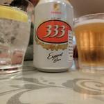 75385921 - Bia 333 (バババ ビール) \544