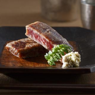 京町家で味わう京都伝統の味「但馬牛西京焼き」