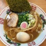 濃厚豚骨ラーメン 仁 - ラーメン(700円)+味玉(100円)