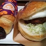 サンマルクカフェ - 料理写真:ソースチキンカツバーガー