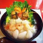 本格中国料理 上海酒家 - 海鮮中華どんのアップ