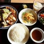 茶虎 - 日替わりランチ(ホイコーロー)780円