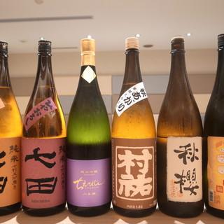和酒の品ぞろえ豊富!!