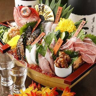 北海道標津直送!鮮度抜群の様々な魚介類♪