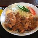 むつみ食堂 - 鳥肉の生姜焼き