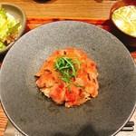 京都 肉食堂 - ステーキ丼セット