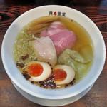 ra-menhachinoashiha - 料理写真:塩withくんたま