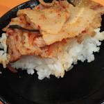 元祖ニュータンタンメン本舗 - ミニ焼肉丼