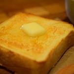 フェブラリーカフェ - 朝パンセット@税込600円 の バタートースト